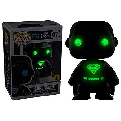 POP DC Comics Justice League Superman Silhouette Exclusive Figure: Toys & Games
