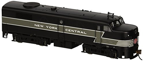 New York Central Railroad Train - Bachmann New York Central HO Scale Alcofa2 Diesel Locomotive - DCC Sound Value On Board