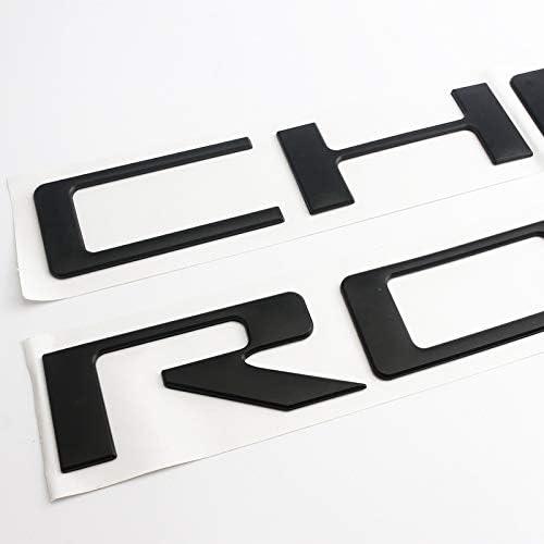 Etichetta Car Decal Sticker Badge Pickup Truck Etichetta 3D Etichetta applicabile ad Chevrolet Silverado del Contenitore di Coda Label Chevrolet Modificato,Rosso