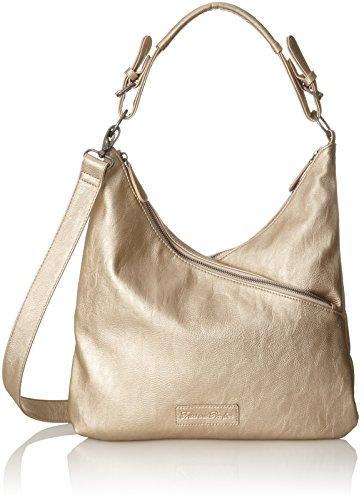 Fritzi aus Preußen Galina - Shoppers y bolsos de hombro Mujer Dorado (Gold)