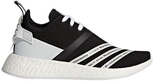 Adidas Originali Mens Wm Nmd R2 Pk Sneaker Core Nero / Ftwr Bianco / Ftwr Bianco