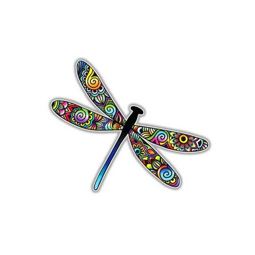 cal Colorful Insect By Megan J Designs Laptops Windows Cars Vinyl Sticker ()