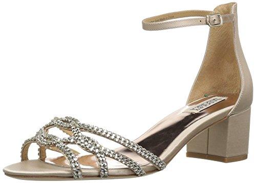 Badgley Mischka Women's Sonya Heeled Sandal Nude 5D6p5Z