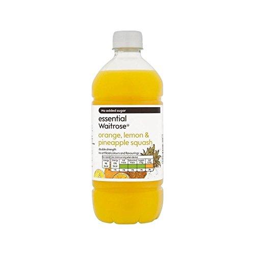 Orange Pineapple Strength essential Waitrose product image