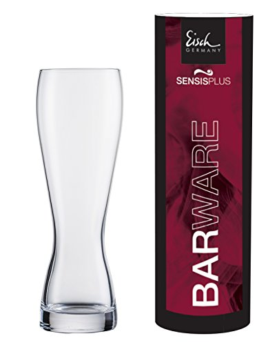 - Eisch 25005081 Superior Lead-Free Crystal Wheat Beer Glass, 24 Oz, Clear