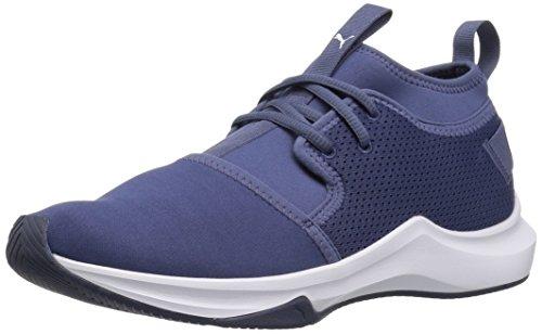 PUMA Womens Phenom Low Wn Sneaker Blue Indigo-puma White TxQ89dq