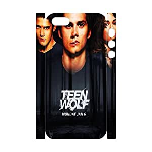 iPhone 5,5S Case, iPhone 5,5S Cover -Teen Wolf Custom Hard Mobile Phone Shell Protector for iPhone 5,5S