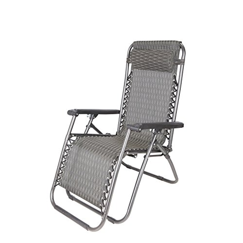 Delicieux ZLJTYN Lounge Chairs | Mesh Fabric Zero Gravity Lounge Chair Patio Folding  Adjustable Recliner For Outdoor