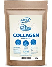 Wehle Sports Collageen poeder, 500 g, collageen, hydrolysaat peptide, eiwitpoeder, smaakneutraal, made in Germany, collageen type 1, 2, 3 lift drank