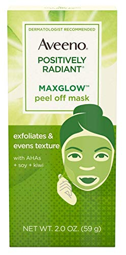 (Aveeno Positively Radiant Max Glow Peel-Off Mask 2 Ounce (3 Pack))