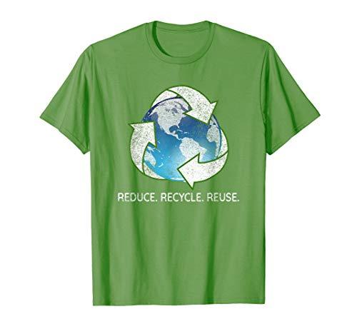 Reduce Recycle Reuse vintage t-shirt for men, women & kids