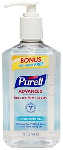 Purell Advanced Instant Sanitizer Refreshing