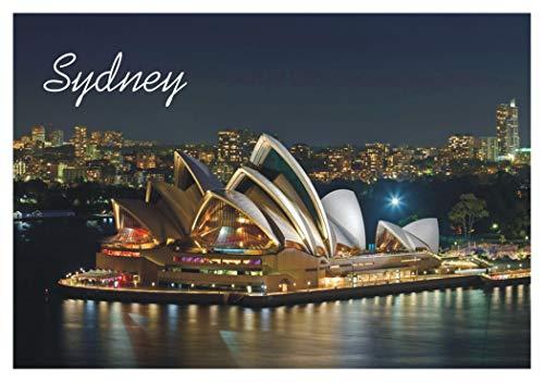 (Sydney Opera House, Music, Australia, Souvenir Magnet 2 x 3 Photo Fridge Magnet)