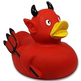 Rubber Duckie Devil Rubber Duck DUCKSHOP Bathduck
