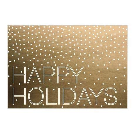 Amazon Hallmark Business Holiday Card For Customers A Golden