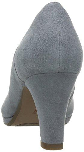 ClarksChorus Nights - Zapatos de Tacón mujer Gris (Grey/Blue Suede)
