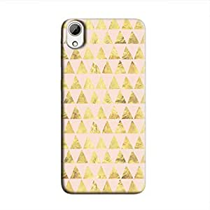 Cover It Up - Gold Pink Triangle Tile Desire 626 Hard Case