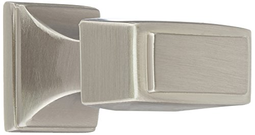 Amerock Mulholland Knob 1-1/4-by-13/16-Inch, Satin Nickel #BP53029-G10 (Pack of 25) Amerock Mulholland Cabinet Knob