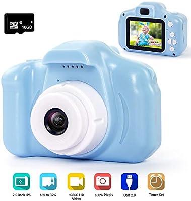 Amazon.com: Hyleton Cámara digital para niños, 1080P 5MP HD ...