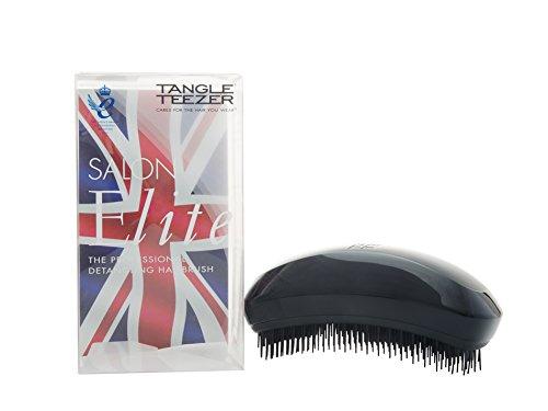 Tangle Teezer Salon Elite Hair Brush, Midnight Black (Best Clip In Hair Extensions Uk Reviews)