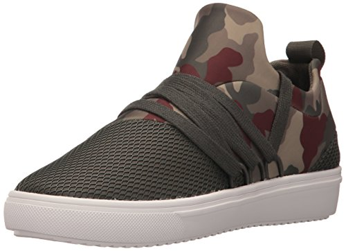 Steve Madden Women's Lancer Fashion Sneaker, camouflage, 6 M ()