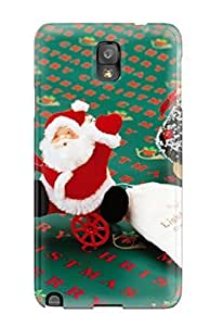 Brand New Note 3 Defender Case For Galaxy (christmas Holiday Christmas)