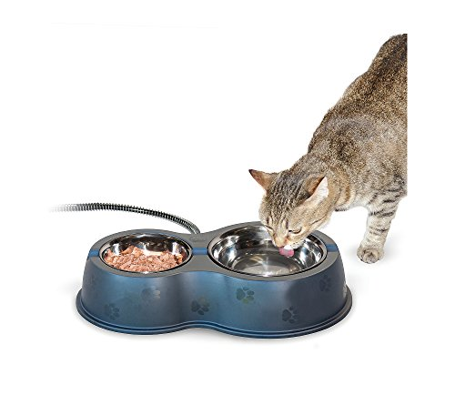 Thermo-Kitty Cafe Heated Bowl (Cat Kitty Thermo Heated)