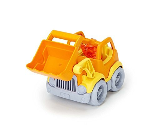 Green Toys Scooper Vehicle Playsets Toy for Kids, Orange