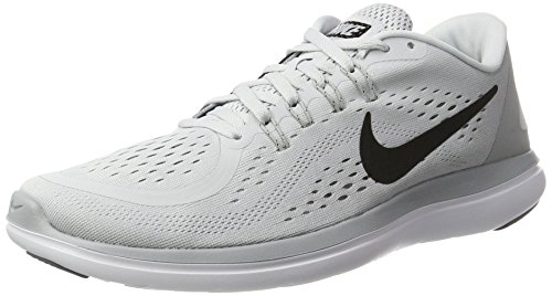 - Nike Men's Flex 2017 RN Pure Platinum Black Size 9.5 US