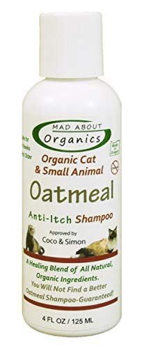 Mad About Organics Cat Oatmeal Shampoo 4oz