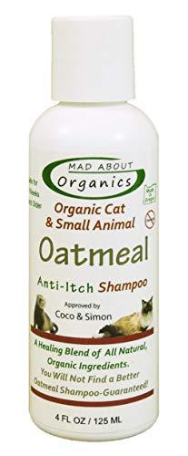 Mad About Organics Cat Oatmeal Shampoo 4oz