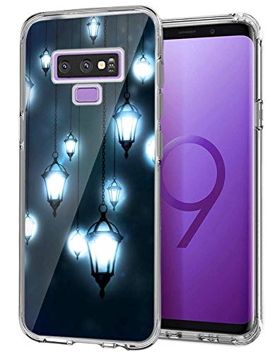 Samsung Galaxy Note 9 Case,Droplight Case for Samsung Galaxy Note 9,Light Lantern Pattern Design Crystal Clear Protective ()