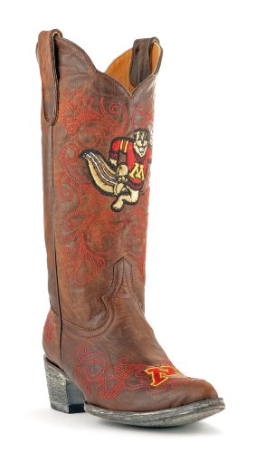 inch University Ladies Brass Boot Gameday Womens 13 NCAA Minnesota of IwB7qzzt