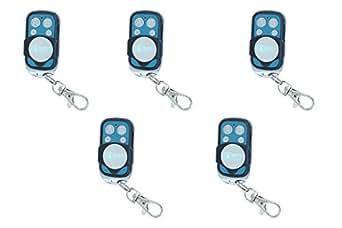 Anboqi - Lote de 5 mandos a distancia universales para puerta automática, de 433,92MHz