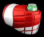 Uberfist Hockey Glove - Detroit   Beer Fist, Beer Beverage Holder, Bottle, Can, Cup, Drinking Fist, Foam Beer