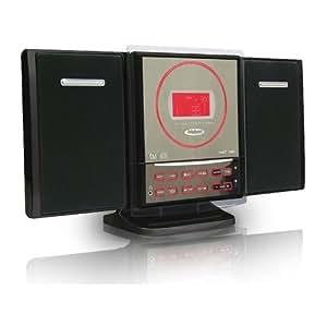 Bigben CD15 - Minicadena con reproductor de CD y MP3 (USB 2.0), color rojo [Importado de Alemania]