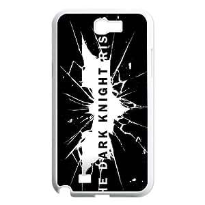 Samsung Galaxy N2 7100 Cell Phone Case White The Dark Knight Rises Logo SP4115814