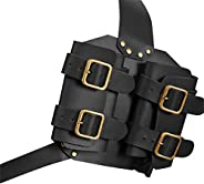 A/O Sword Cover,Sword Belt Sword Holster Outdoor Double Scabbard Strap Adjustable PU Leather Double Back Scabb