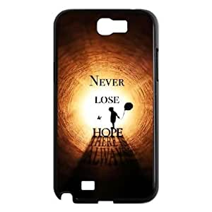 DIY HOPE Case, DIY Case Cover for samsung galaxy note 2 n7100 with HOPE (Pattern-4) Kimberly Kurzendoerfer