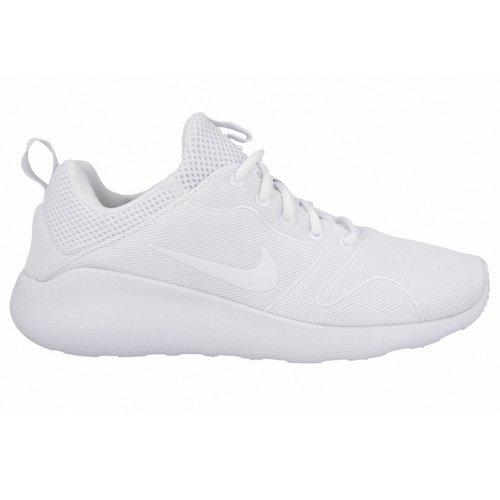 finest selection 7491b ad743 Galleon - Nike Men s Kaishi 2.0 White White Running Shoe - 9 D(M) US