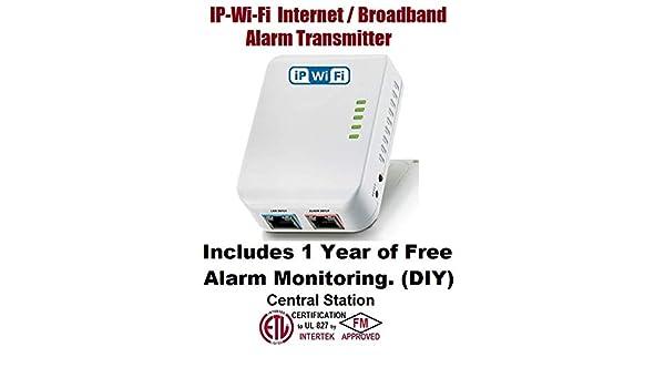 Amazon.com: VirtuAlarm IP-WI-FI Broadband Alarm Transmitter ...