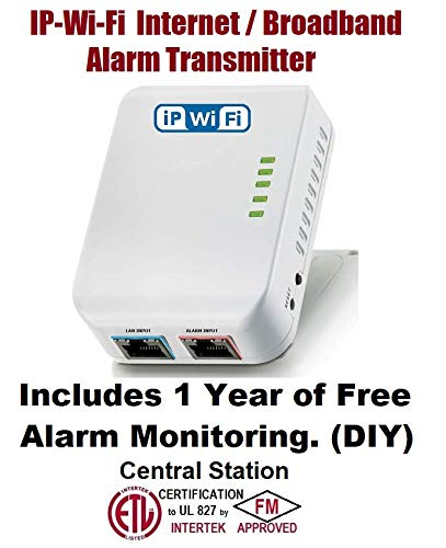 Amazon.com: VirtuAlarm IP-WI-FI Broadband Alarm Transmitter ...