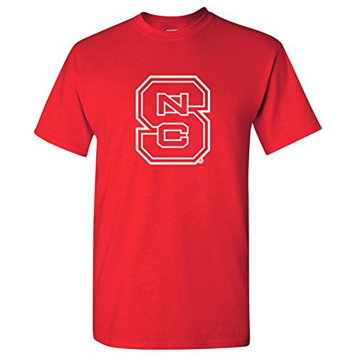 AS02 - North Carolina State Wolfpack Primary Logo T-Shirt - X-Large - Red -