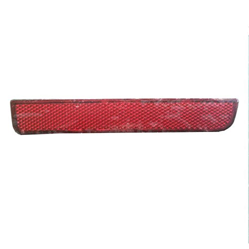 JSD Rear RH Right Bumper Reflector LED Backup Stop Brake Light fits Land Rover LR2 Range Rover (Right Bumper Stop)