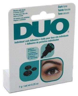 (DUO Individual Lash Adhesive Eyelash Glue 7g Dries Invisibly Dark tone)