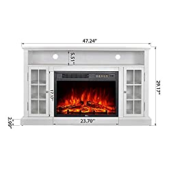 GMHome Electric Fireplace TV Stand Firepalce by GMHOME