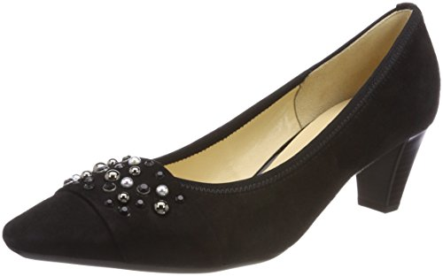 Gabor Women's Basic Closed-Toe Pumps Black (Schwarz) YhYsdx