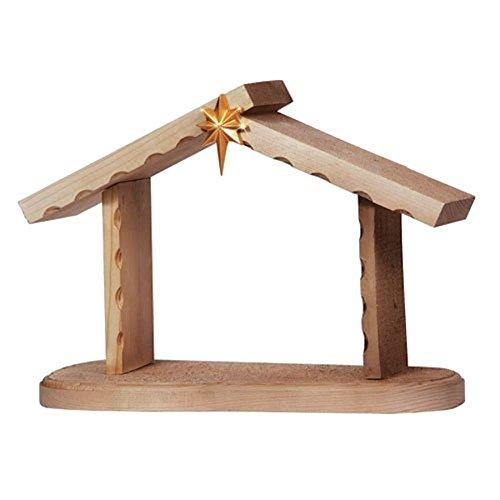 Precious Moments Creche Wood Nativity Figurine 131425 New