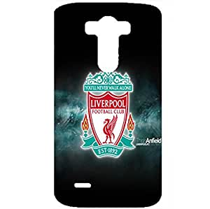 Liverpool Football Club Mystery Snap-On Diy Cover High Quality 3D Print Team Logo Cover Hard Plastic Case for LG G3