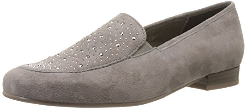 Ara Womens Kendall Slip-on Loafer Grijs Suède